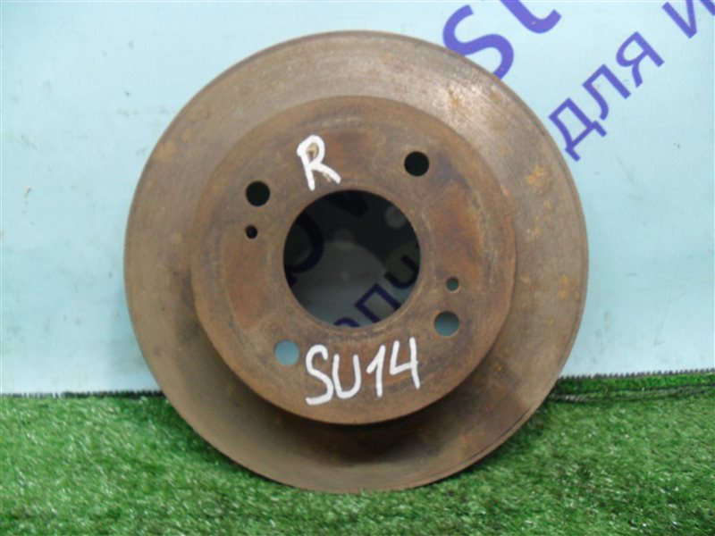 Тормозной диск Nissan Bluebird SU14 CD20 1999 задний
