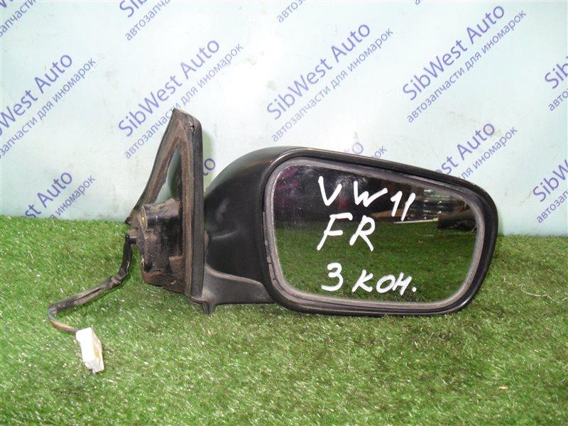 Зеркало Nissan Expert VW11 QG18DE 1999 переднее правое