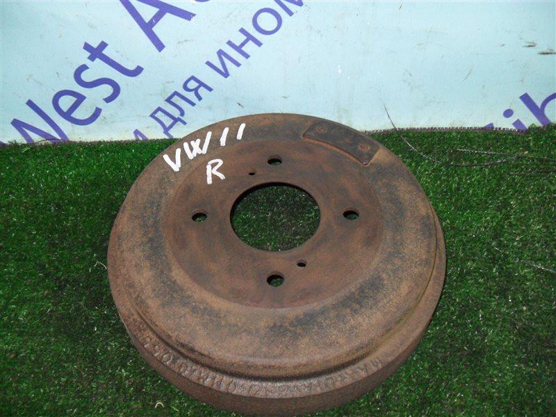 Тормозной барабан Nissan Expert VW11 QG18DE 1999 задний