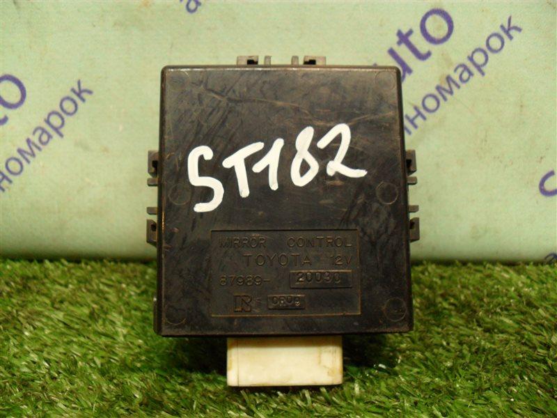 Электронный блок Toyota Carina Ed ST182 3S-FE 1991