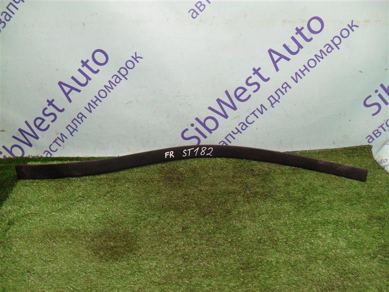 Молдинг на дверь Toyota Carina Ed ST182 3S-FE 1991 передний правый