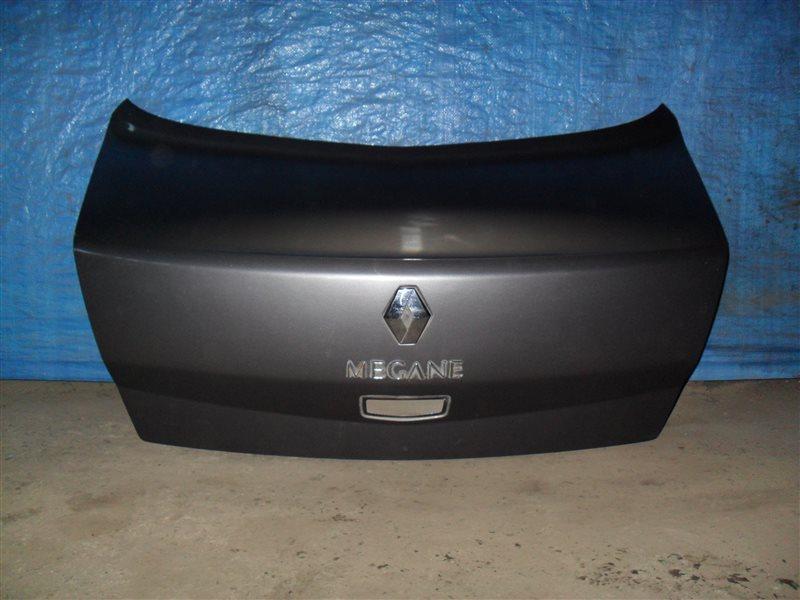 Крышка багажника Renault Megane 2 LM2Y K4M 2008