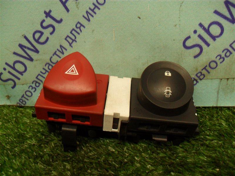 Кнопка аварийной сигнализации Renault Megane 2 LM2Y K4M 2008