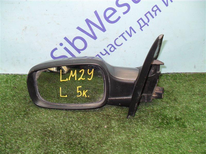 Зеркало Renault Megane 2 LM2Y K4M 2008 левое