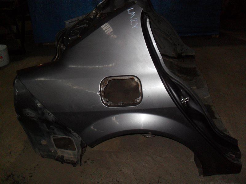 Крыло Renault Megane LM2Y K4M 2008 заднее правое