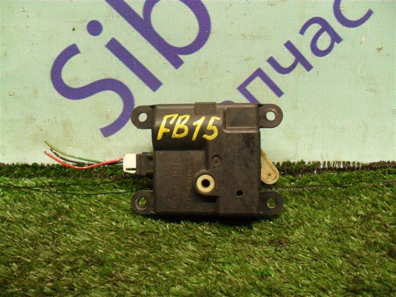 Сервопривод заслонок печки Nissan Sunny FB15 QG15DE 2001