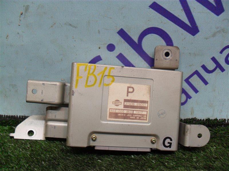 Блок управления акпп Nissan Sunny FB15 QG15DE 2001