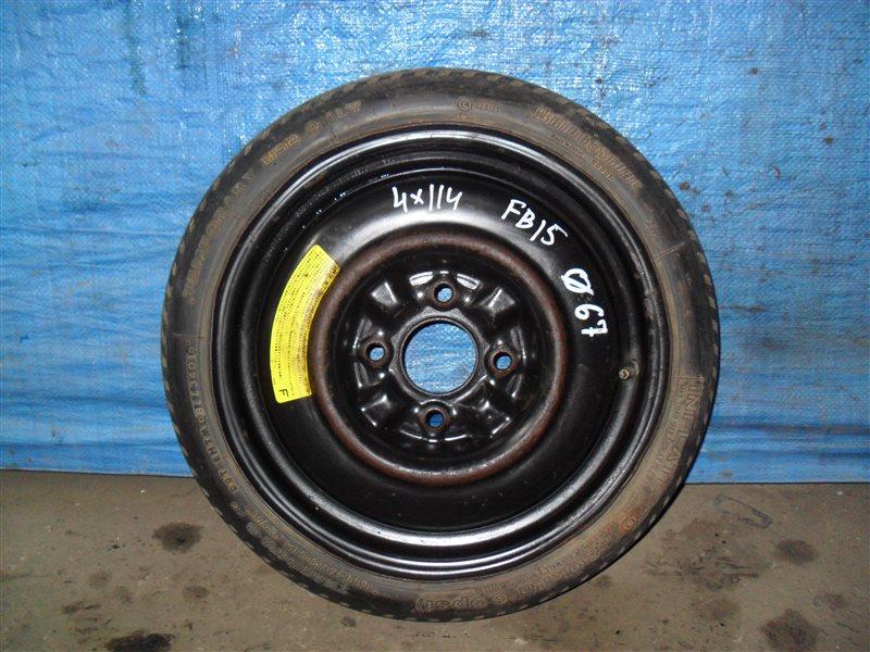 Запаска Nissan Sunny FB15 QG15DE 2001