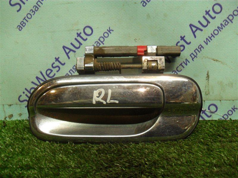 Ручка двери внутренняя Nissan Sunny FB15 QG15DE 2001 задняя левая