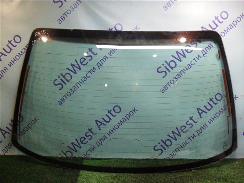 Заднее стекло Nissan Sunny FB15 QG15DE 2001