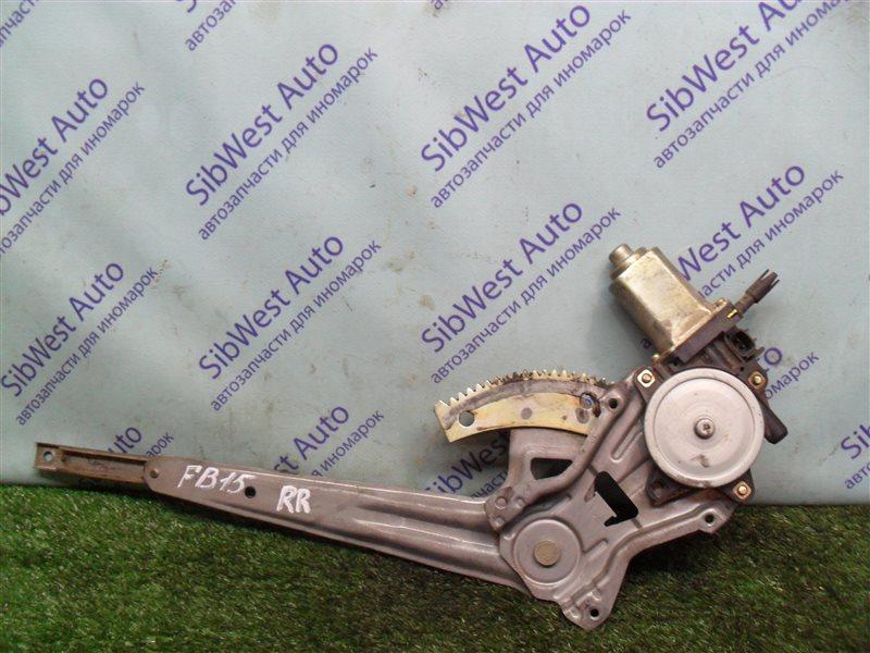 Стеклоподъемник Nissan Sunny FB15 QG15DE 2001 задний правый