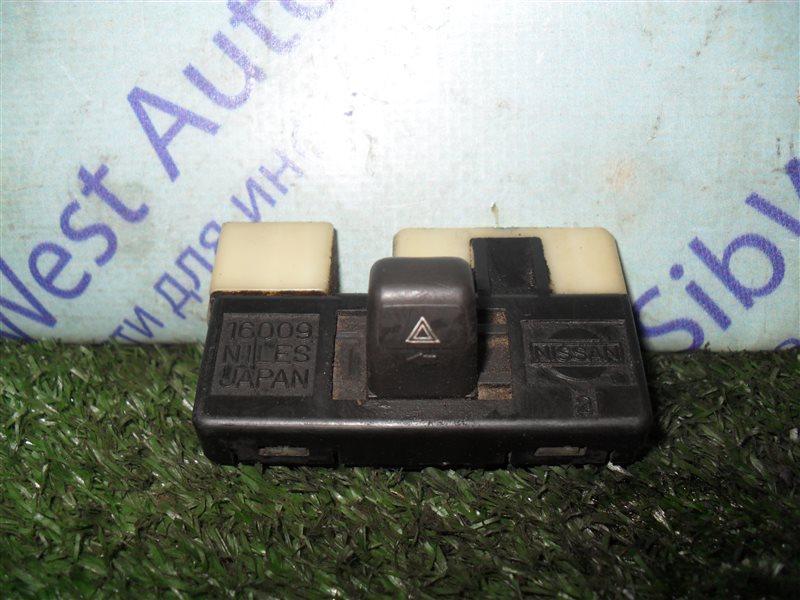 Кнопка аварийной сигнализации Nissan Vanette KMC22 CA20S 1986