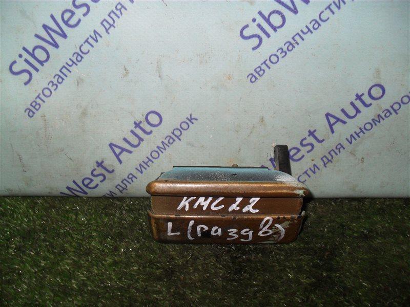 Ручка двери внешняя Nissan Vanette KMC22 CA20S 1986 задняя левая