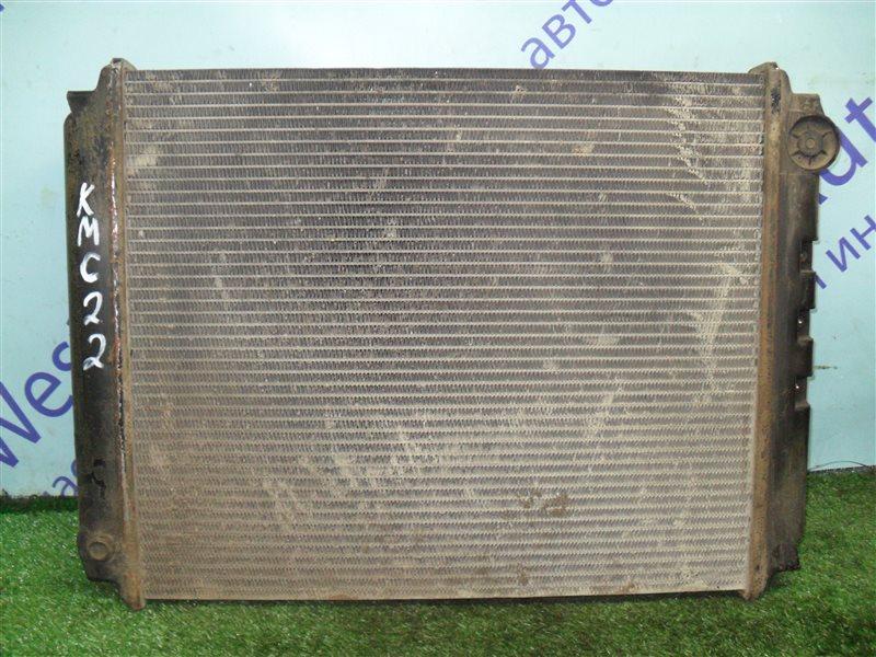 Радиатор основной Nissan Vanette KMC22 CA20S 1986