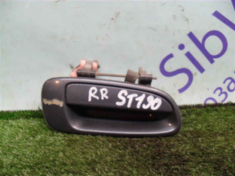 Ручка двери внешняя Toyota Corona ST190 4S-FE 1994 задняя правая