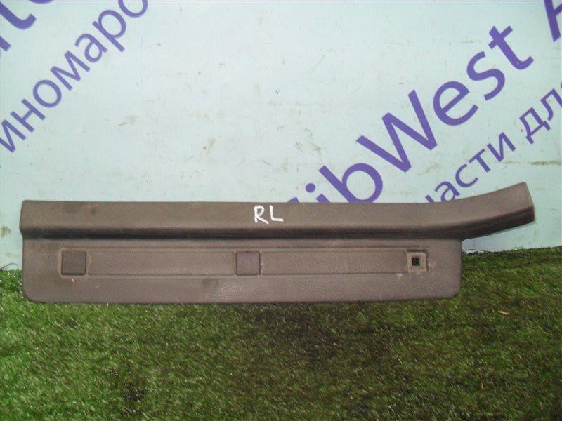 Порожек пластиковый Subaru Legacy BC2 EJ18S 1991 задний левый