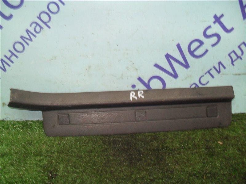 Порожек пластиковый Subaru Legacy BC2 EJ18S 1991 задний правый