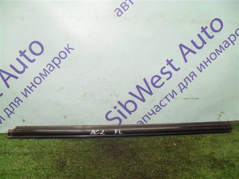 Молдинг на дверь Subaru Legacy BC2 EJ18S 1991 передний левый верхний