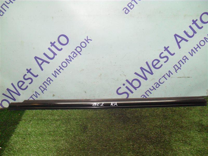 Молдинг на дверь Subaru Legacy BC2 EJ18S 1991 задний правый верхний