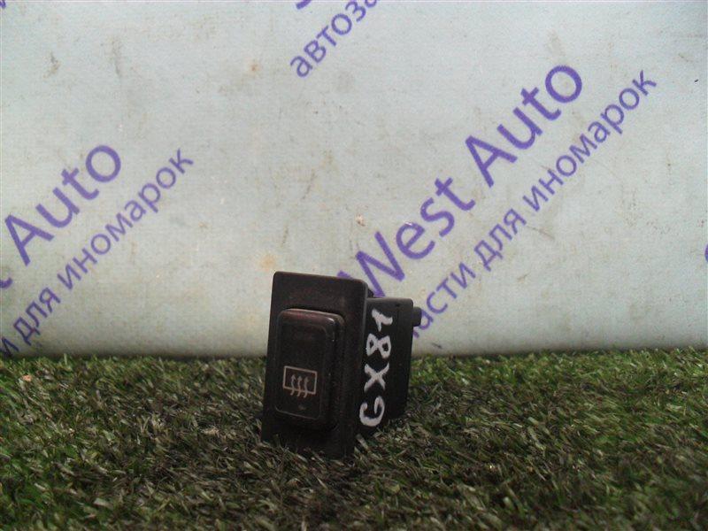 Кнопка обогрева заднего стекла Toyota Mark Ii GX81 1G-FE 1989