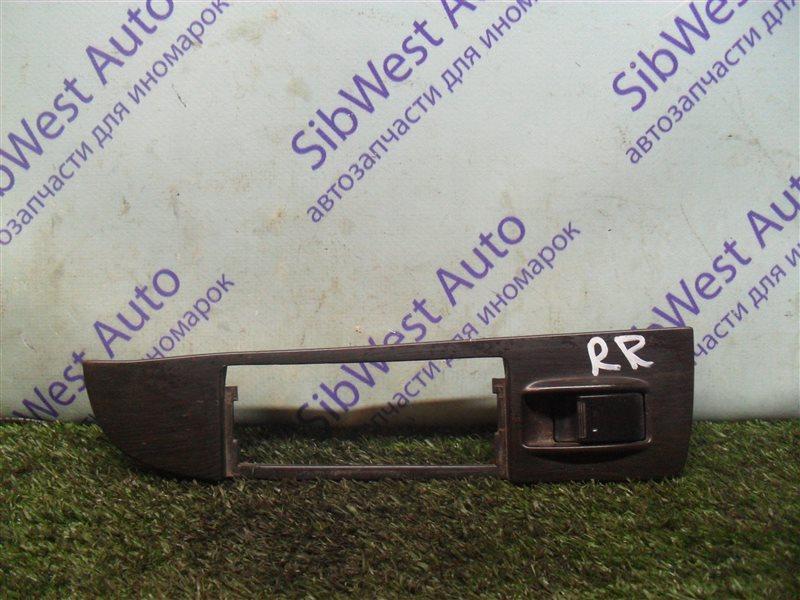 Кнопка стеклоподъемника Toyota Mark Ii GX81 1G-FE 1989 задняя правая