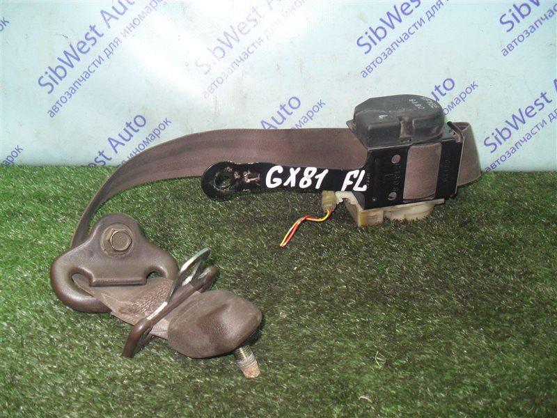 Ремень безопасности Toyota Mark Ii GX81 1G-FE 1989 передний левый