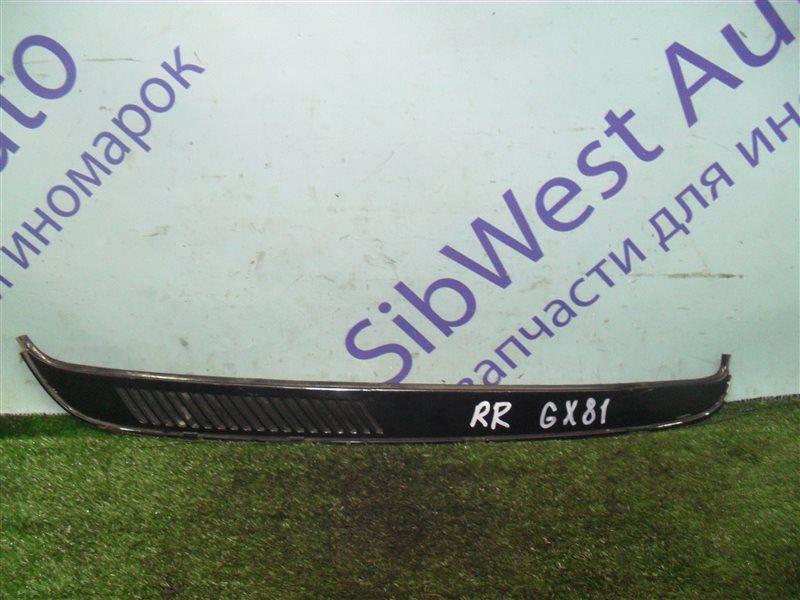 Молдинг стекла Toyota Mark Ii GX81 1G-FE 1989 задний правый