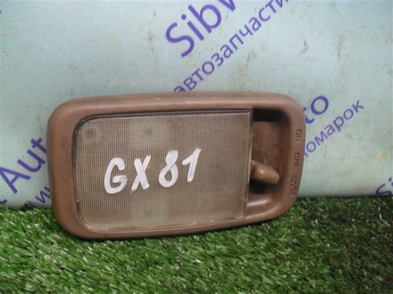 Плафон Toyota Mark Ii GX81 1G-FE 1989