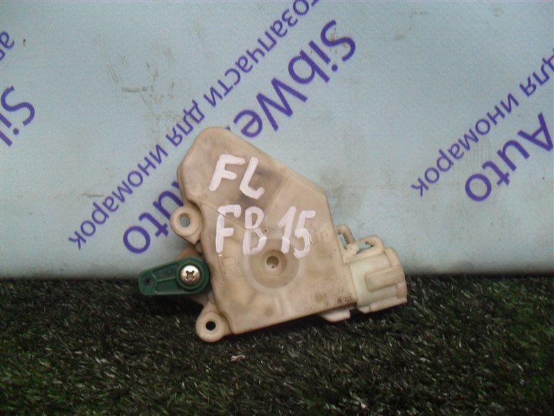 Электропривод замка двери Nissan Sunny FB15 QG15DE 2001 передний левый