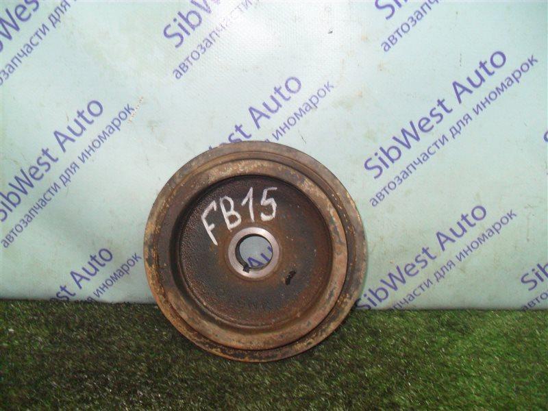 Шкив коленвала Nissan Sunny FB15 QG15DE 2001