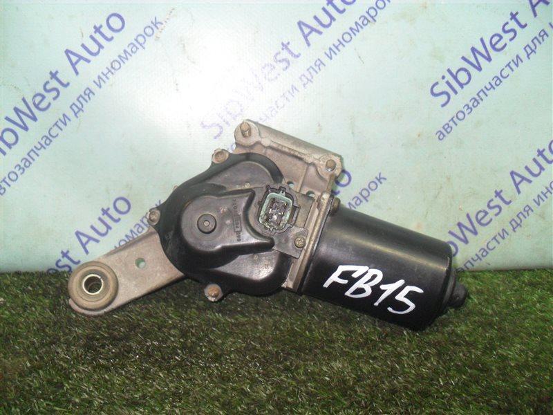 Мотор дворников Nissan Sunny FB15 QG15DE 2001 передний