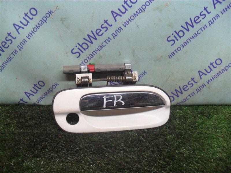 Ручка двери внешняя Nissan Sunny FB15 QG15DE 2001 передняя правая