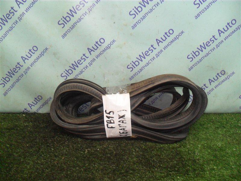 Уплотнительная резинка багажника Nissan Sunny FB15 QG15DE 2001
