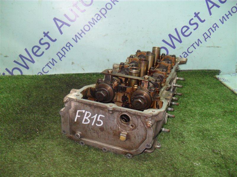 Головка блока цилиндров Nissan Sunny FB15 QG15DE 2001