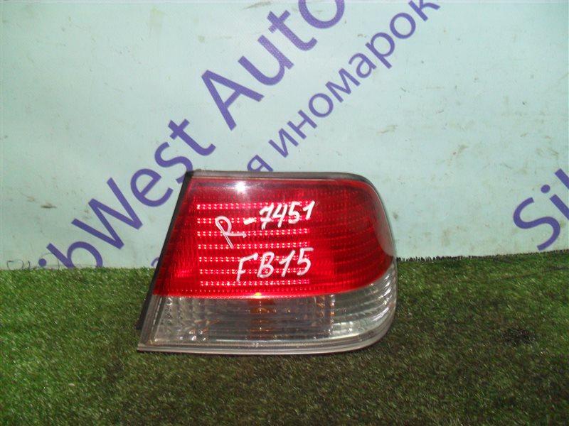 Стоп-сигнал Nissan Sunny FB15 QG15DE 2001 задний правый