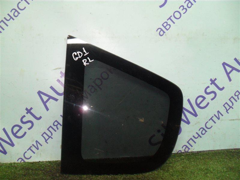 Стекло собачника Honda Fit GD1 L13A 2001 заднее левое