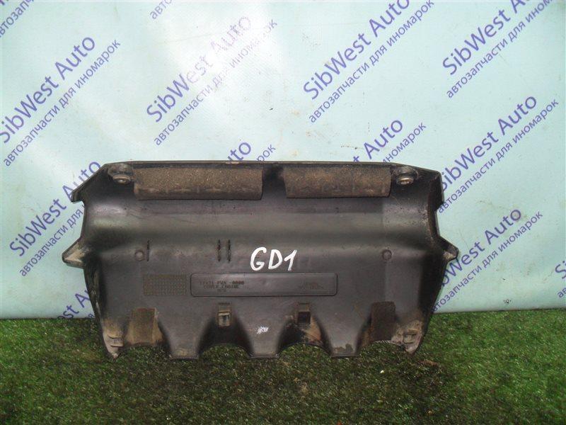 Декоративная крышка двс Honda Fit GD1 L13A 2001