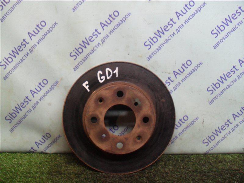 Тормозной диск Honda Fit GD1 L13A 2001 передний