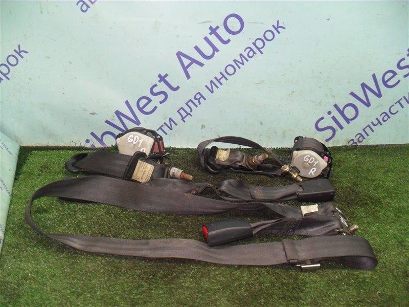 Ремень безопасности Honda Fit GD1 L13A 2001 задний