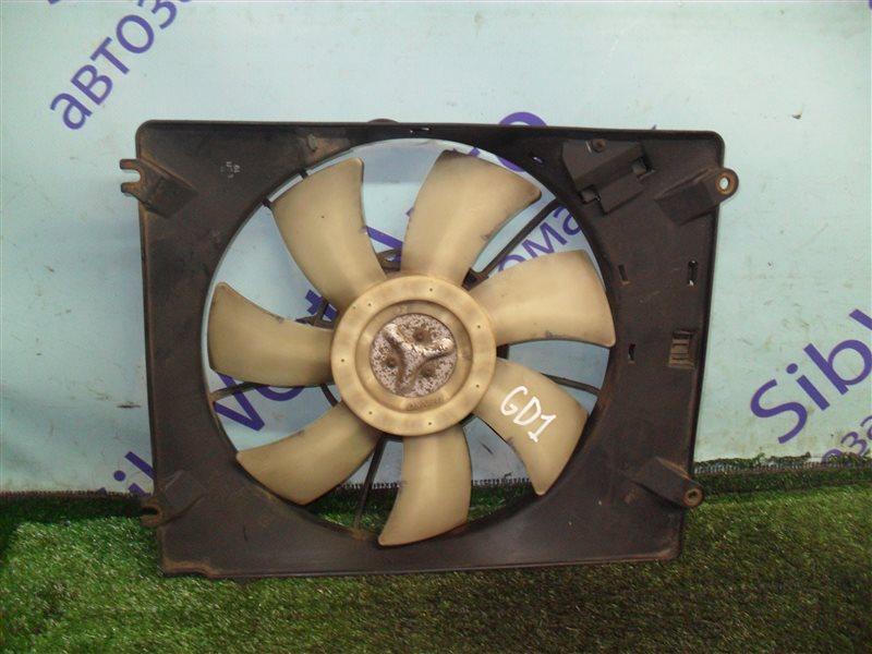 Вентилятор радиатора кондиционера Honda Fit GD1 L13A 2001