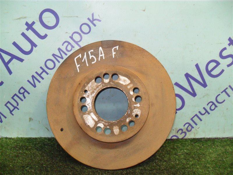 Тормозной диск Mitsubishi Diamante F15A 6G73 1992 передний