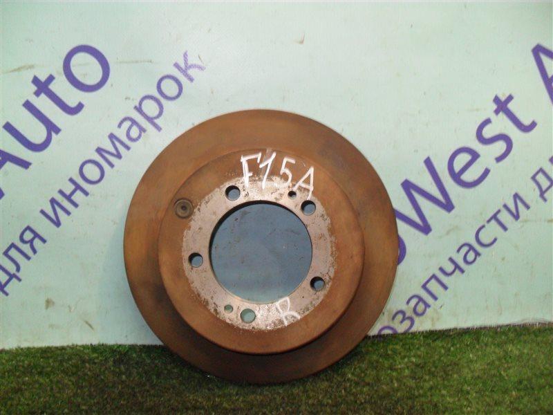 Тормозной диск Mitsubishi Diamante F15A 6G73 1992 задний