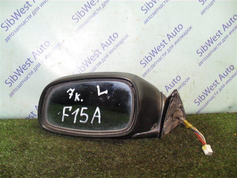 Зеркало Mitsubishi Diamante F15A 6G73 1992 переднее левое