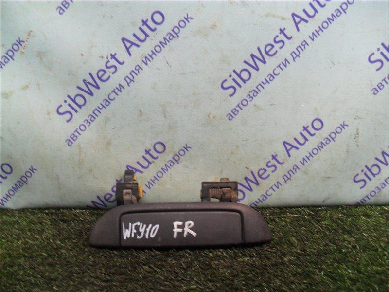 Ручка двери внешняя Nissan Ad WFY10 GA15DS 1993 передняя правая