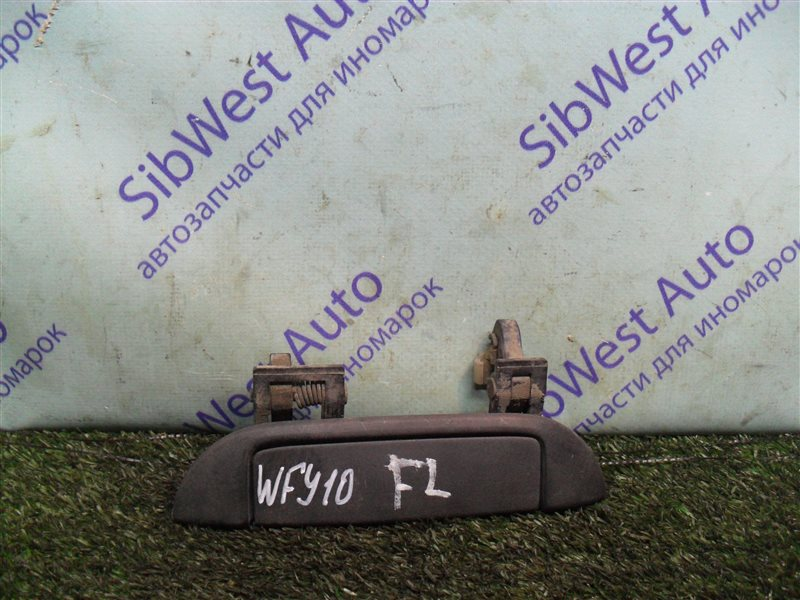 Ручка двери внешняя Nissan Ad WFY10 GA15DS 1993 передняя левая