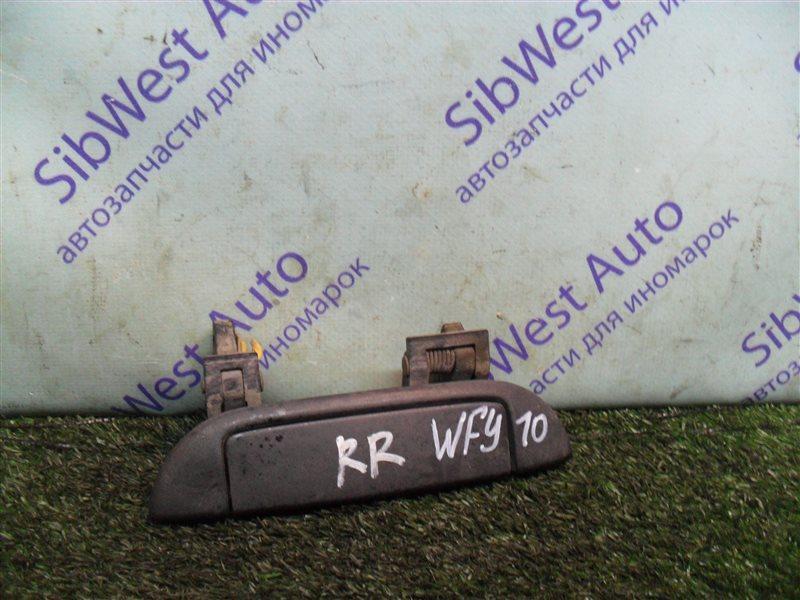Ручка двери внешняя Nissan Ad WFY10 GA15DS 1993 задняя правая