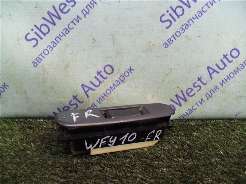 Кнопка стеклоподъемника Nissan Ad WFY10 GA15DS 1993 передняя правая