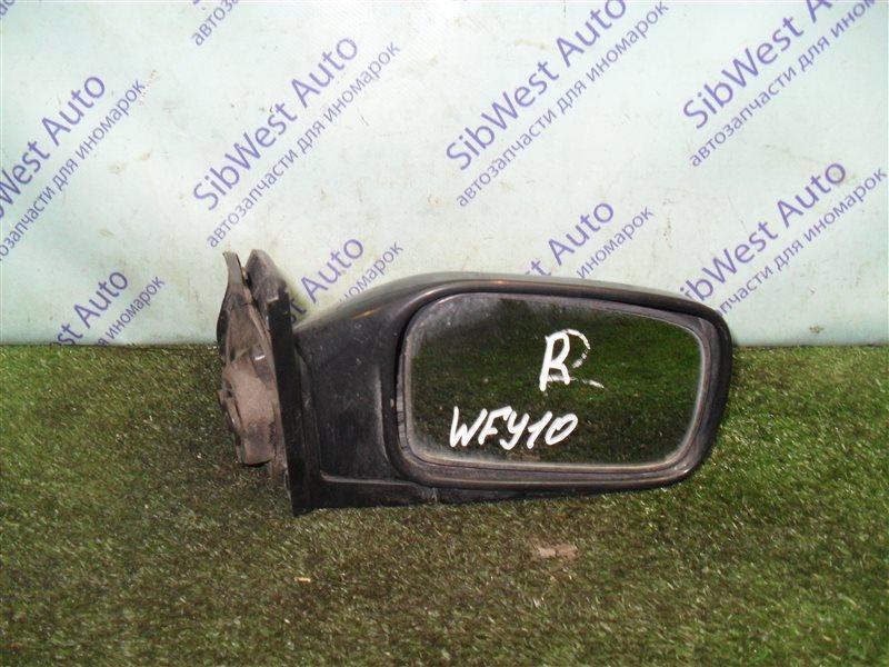 Зеркало Nissan Ad WFY10 GA15DS 1993 правое