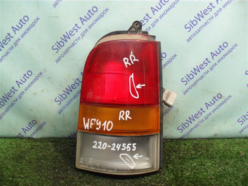 Стоп-сигнал Nissan Ad WFY10 GA15DS 1993 задний правый