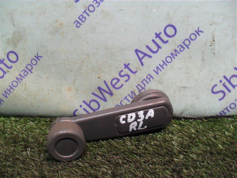 Ручка стеклоподъемника Mitsubishi Lancer CD3A 4G91 1993 задняя левая